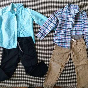4t boy's outfit bundle